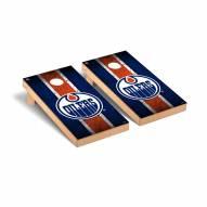 Edmonton Oilers Vintage Cornhole Game Set