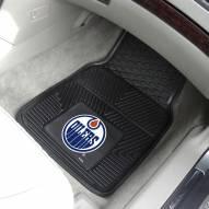 Edmonton Oilers Vinyl 2-Piece Car Floor Mats