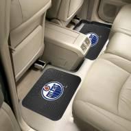 Edmonton Oilers Vinyl 2-Piece Rear Floor Mats