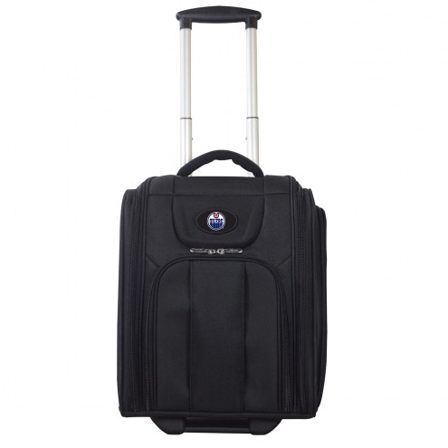 Edmonton Oilers Wheeled Business Tote Laptop Bag