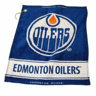 Edmonton Oilers Woven Golf Towel