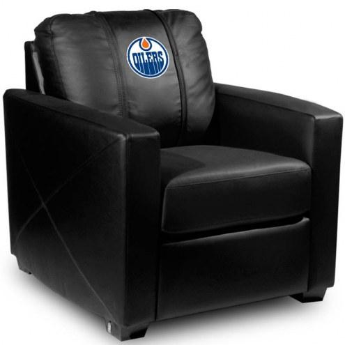 Edmonton Oilers XZipit Silver Club Chair