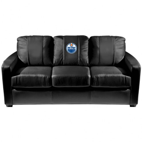 Edmonton Oilers XZipit Silver Sofa