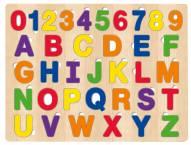 Educational ABC & 123 36 Piece Wood Puzzle
