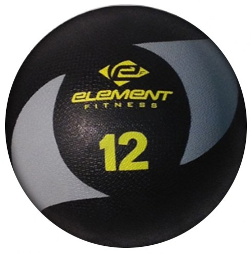 Element Fitness 12 lb Commercial Medicine Balls