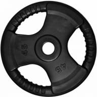 Element Fitness Commercial Olympic 3 Grip Handle Weight Plate