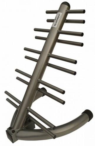 Element Fitness Vertical Neoprene/Vinyl Dumbbell Tower - Holds 10 pairs