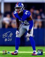 Eli Apple Signed 'Defending' 8 x 10 Photo