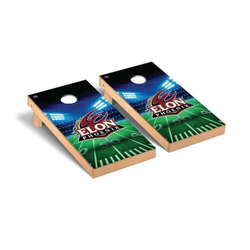 Elon Phoenix Stadium Cornhole Game Set