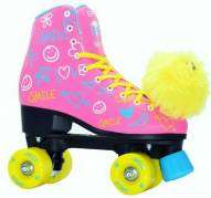 Epic Blush Kids' Quad Roller Skates