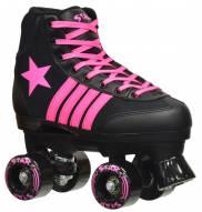 Epic Star Vela Black & Pink Quad Roller Skates - SCUFFED