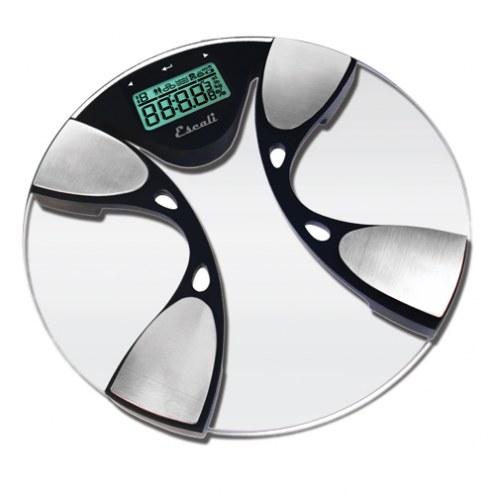 Escali Glass Body Fat / Water Bathroom Scale