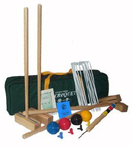 Oakley Woods Euro-Sport 4-Player Croquet Set