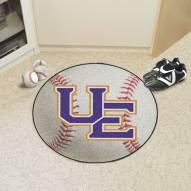 Evansville Purple Aces Baseball Rug