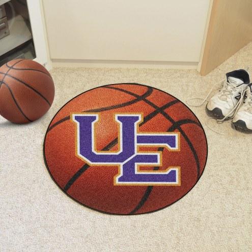 Evansville Purple Aces Basketball Mat