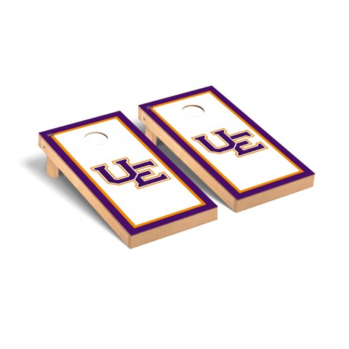 Evansville Purple Aces Border Cornhole Game Set