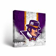 Evansville Purple Aces Vintage Canvas Wall Art