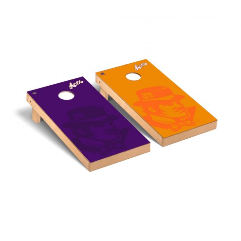 Evansville Purple Aces Watermark Cornhole Game Set