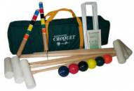 Oakley Woods Extreme 4-Player Croquet Set