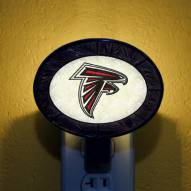Atlanta Falcons NFL Stained Glass Night Light