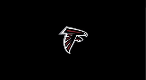 Atlanta Falcons NFL Team Logo Billiard Cloth