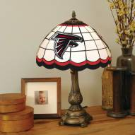 Atlanta Falcons NFL Stained Glass Table Lamp