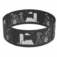 "Farm 36"" Round Steel Fire Ring"