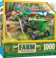 Farm & Country Deer Crossing 1000 Piece Puzzle