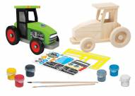 Farm Tractor Wood Paint Kit