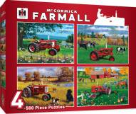 Farmall Case IH 4 Pack 500 Piece Puzzles