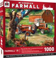 Farmall Case IH Boys and Thier Toys 1000 Piece Puzzle