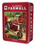 Farmall Case IH Feeding Time 1000 Piece Puzzle in a Tin