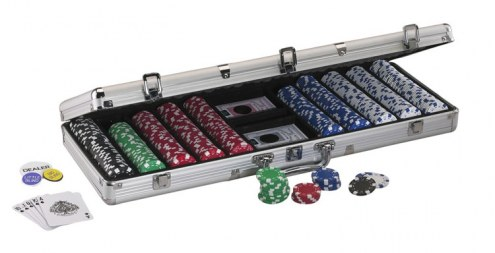 Fat Cat Texas Hold'em Poker Set