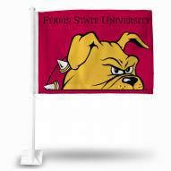 Ferris State Bulldogs Car Flag
