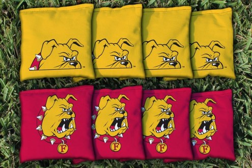 Ferris State Bulldogs Cornhole Bag Set