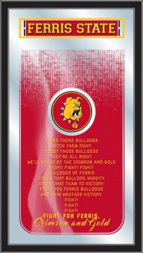 Ferris State Bulldogs Fight Song Mirror
