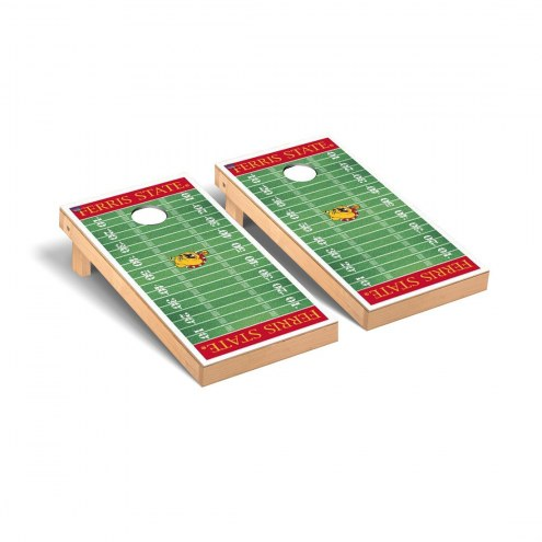 Ferris State Bulldogs Football Field Cornhole Game Set