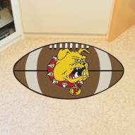 Ferris State Bulldogs Football Floor Mat