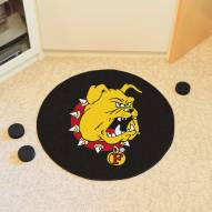 Ferris State Bulldogs Hockey Puck Mat
