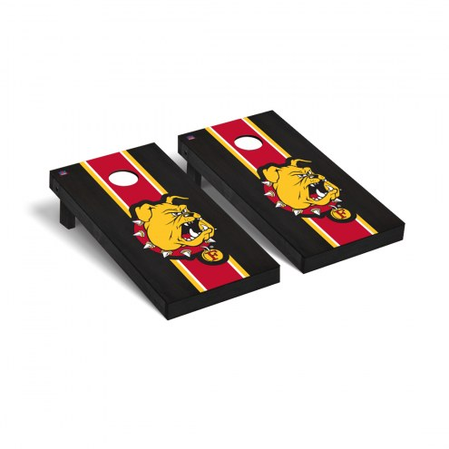Ferris State Bulldogs Onyx Stained Cornhole Game Set