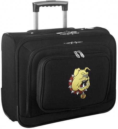 Ferris State Bulldogs Rolling Laptop Overnighter Bag