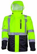 Fieldsheer Mobile Warming Men's Hi-Viz Heated Rain Jacket