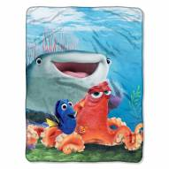 Finding Dory A Fishy Group Micro Raschel Throw Blanket