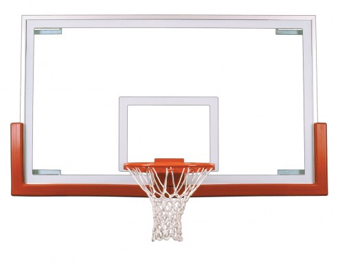"""First Team 42"""" x 72"""" FT234 Competition Glass Basketball Backboard"""