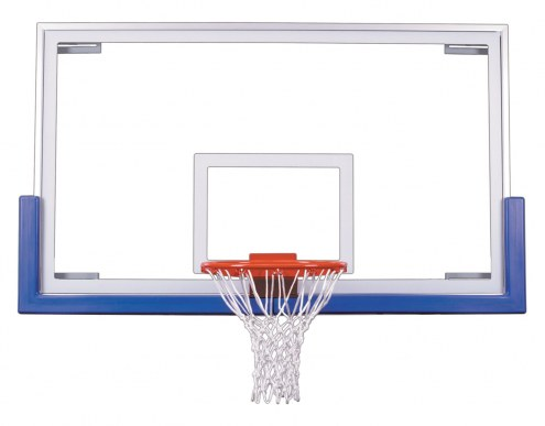 """First Team 42"""" x 72"""" FT235 Unbreakable Competition Glass Basketball Backboard"""