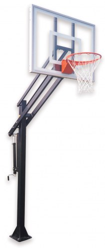 First Team ATTACK ULTRA Adjustable Basketball Hoop