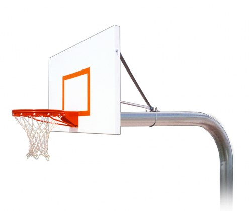 First Team Brute Extreme Fixed Height Basketball System