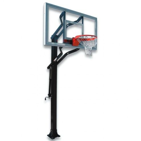 First Team CHALLENGER NITRO Adjustable Basketball Hoop