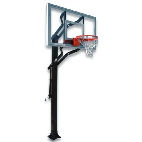 First Team CHALLENGER TURBO Adjustable Basketball Hoop
