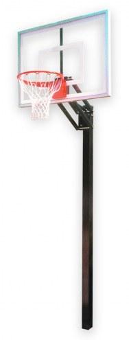 First Team Champ III Adjustable Basketball Hoop